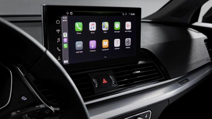 Nuova Audi Q5 2020: il nuovo sistema di infotainment MIB3