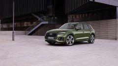 Nuova Audi Q5 2020: visuale di 3/4 anteriore