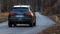 Nuova Audi Q5 2021, il posteriore