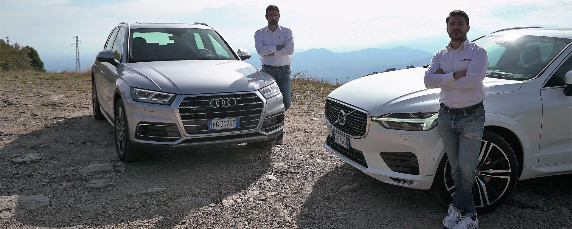 Nuova Volvo XC60 VS nuova Audi Q5: la sfida tutta premium