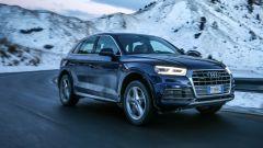 Nuova Audi Q5: è arrivata sulle strade dell'Alta Badia