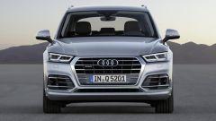 Nuova Audi Q5, frontale