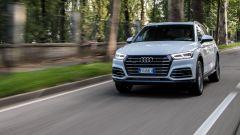 Nuova Audi Q5 ibrida plug-in 2019, prova su strada e opinioni