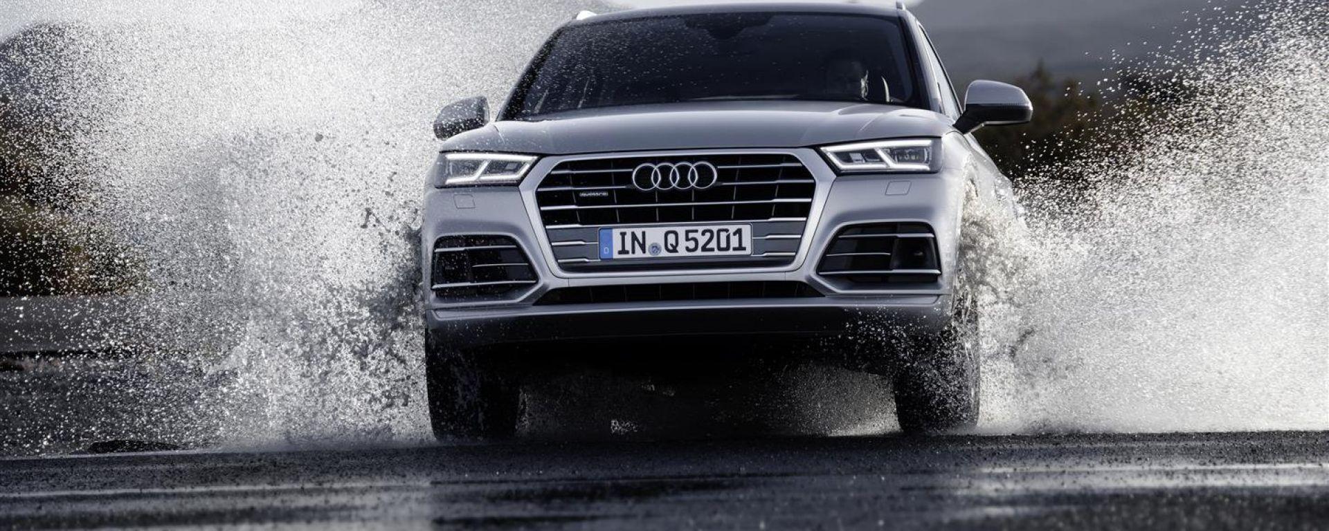 Nuova Audi Q5, il muso