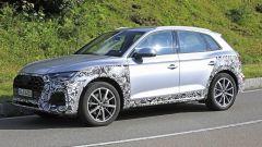 Nuova Audi Q5: le modifiche ai fianchi
