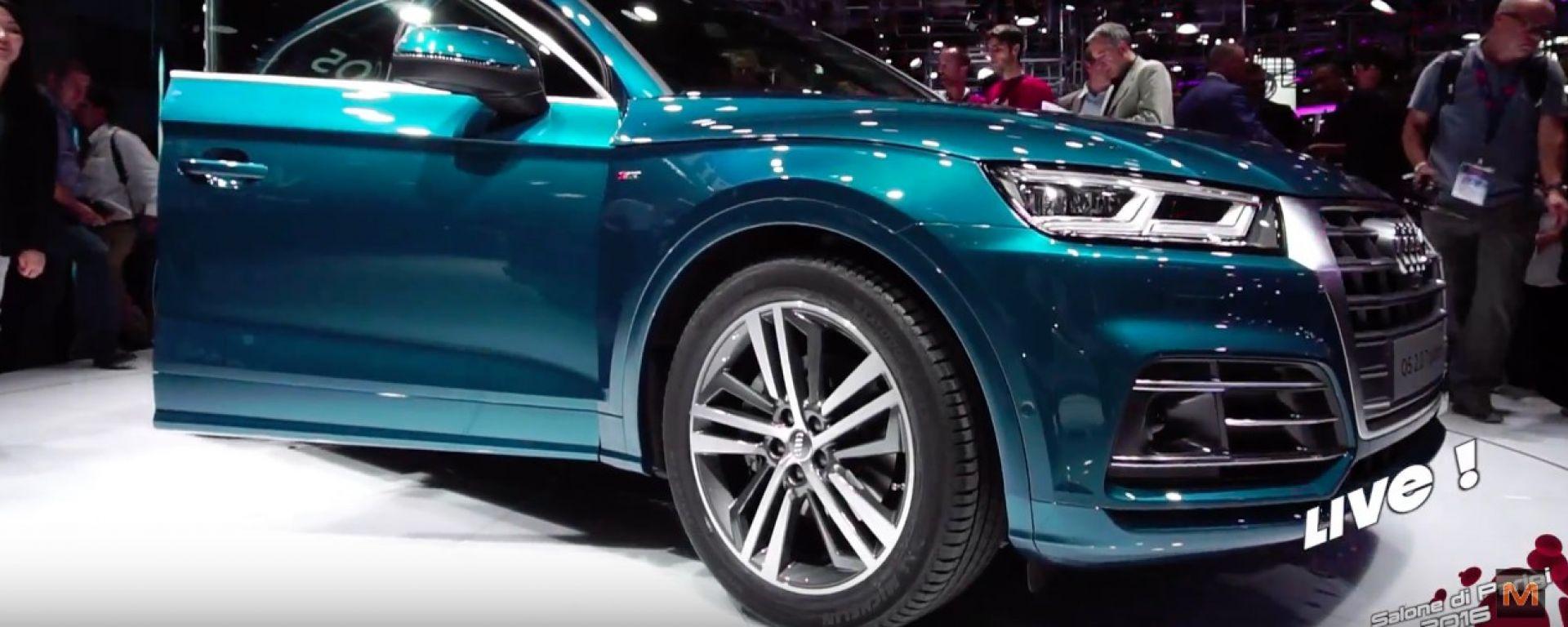 Nuova Audi Q5 live dal Salone di Parigi 2016