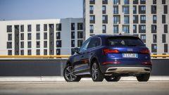 Nuova Audi Q5: lunga 4 metri e 66 cm e larga 1 e 89