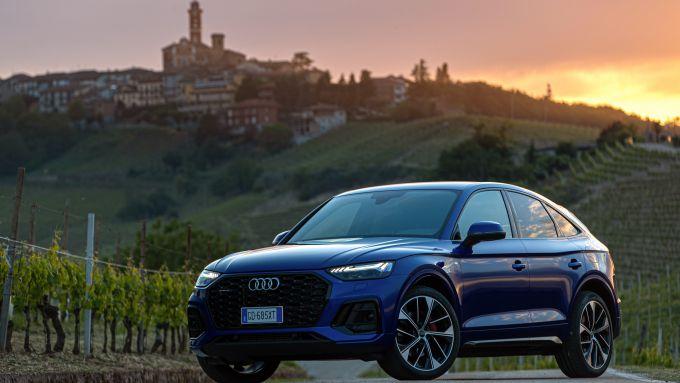 Nuova Audi Q5 Sportback PHEV: stile sportivo e dettagli di pregio come i fari Full LED