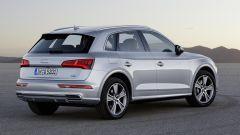 Nuova Audi Q5, vista di tre quarti posteriore