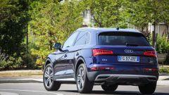 Nuova Audi Q5: vista posteriore