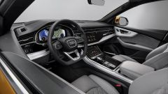 Nuova Audi Q8 2018, gli interni