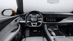 Nuova Audi Q8 2018, il posto guida