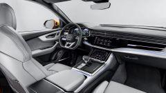 Nuova Audi Q8 2018, interiors