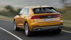Nuova Audi Q8 2018, vista posteriore