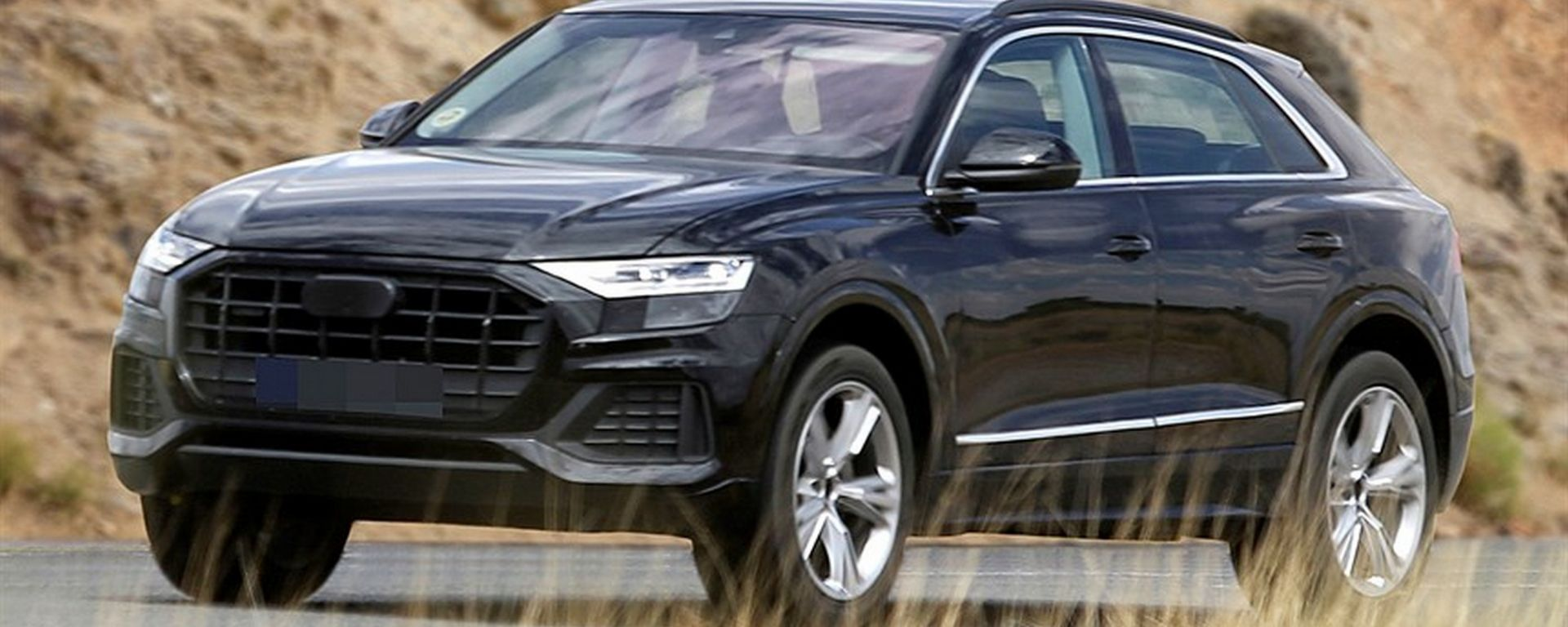 Audi Q8: ultimi spy della Urus-wannabe