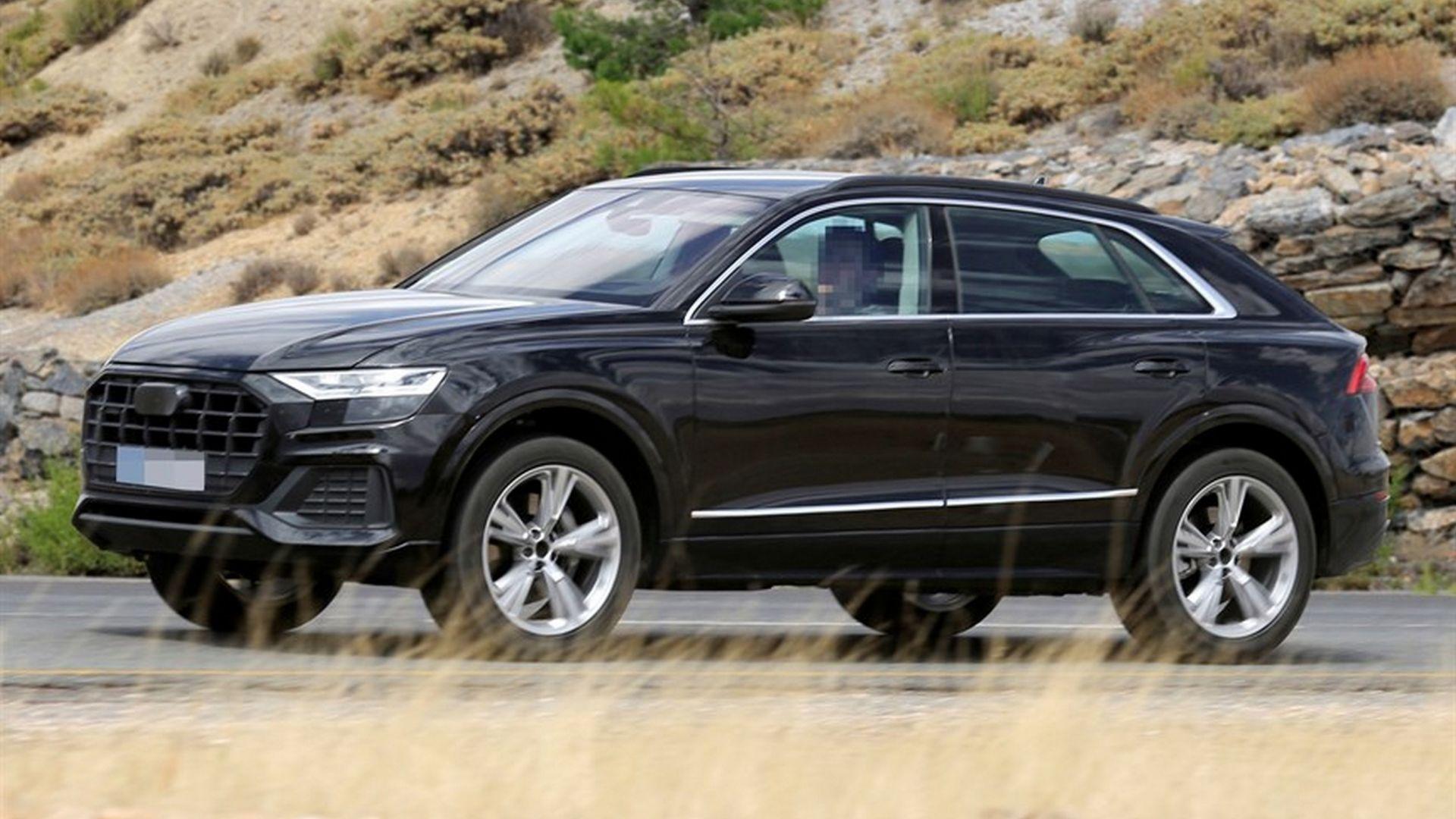 Nuova Audi Q8 Ecco Le Ultime Foto Spia Del Suv Interni Uscita Motorbox