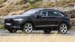 Audi Q8: ultimi spy della Urus-wannabe - Immagine: 2