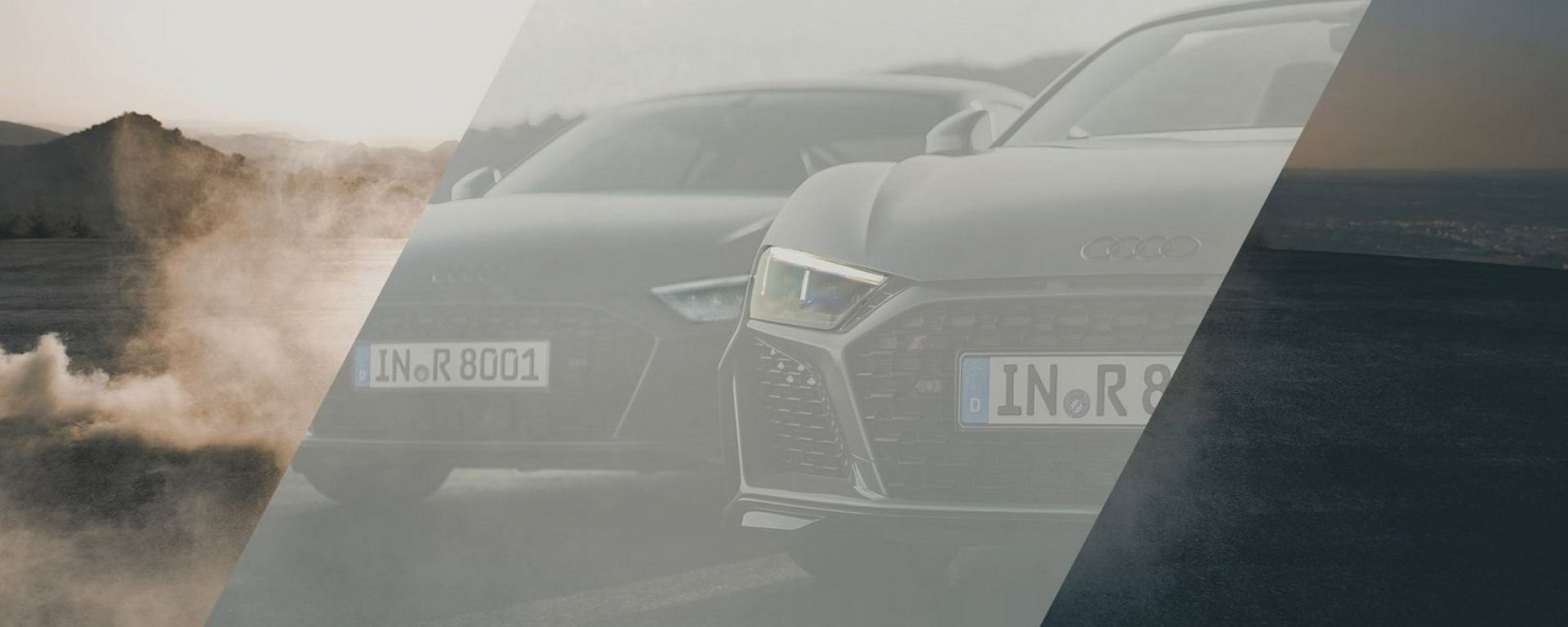 Audi R8 2019: il primo teaser