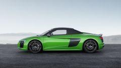 Nuova Audi R8 Spyder V10 Plus: 610 CV a cielo aperto - Immagine: 3