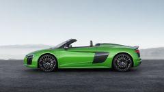 Nuova Audi R8 Spyder V10 Plus: 610 CV a cielo aperto - Immagine: 4