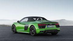 Nuova Audi R8 Spyder V10 Plus: 610 CV a cielo aperto - Immagine: 5