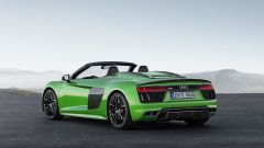 Nuova Audi R8 Spyder V10 Plus: 610 CV a cielo aperto - Immagine: 6