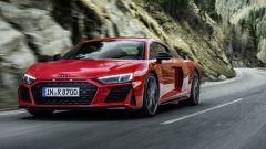 Audi R8 V10 performance RWD (2022): più potenza. Ecco quando esce