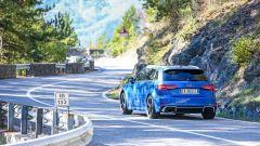 Nuova Audi RS 3 Sportback 2017 sulle colline romagnole