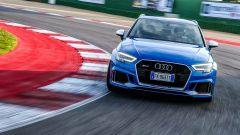 Nuova Audi RS 3 Sportback in pista a Misano