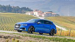 Nuova Audi RS 3 Sportback tra i vigneti