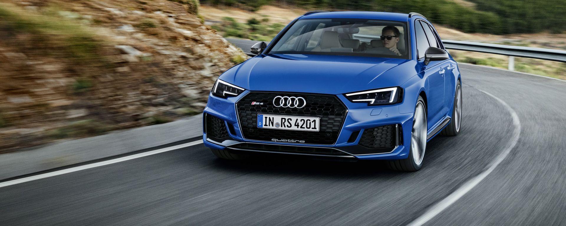 Nuova Audi RS 4 2017: dopo 18 anni ritorna il V6 biturbo. Ecco come va