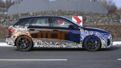 Nuova Audi RS3: il profilo della versione Sportback a due volumi