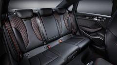 Nuova Audi RS3 Sedan 2017: i sedili posteriori