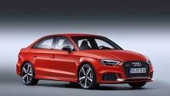Nuova Audi RS3 Sedan 2017: vista 3/4 anteriore