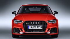 Nuova Audi RS3 Sedan 2017: vista anteriore