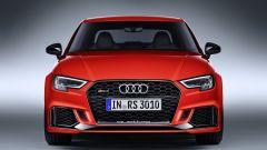 Nuova Audi RS3 Sedan 2017: vista anteriore