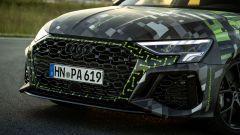 Nuova Audi RS3 Sedan 2021: l'aggressivo frontale sportivo