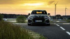Nuova Audi RS3 Sedan 2021: visuale anteriore