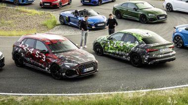Nuova Audi RS3 Sedan e Sportback: fiducia e successo del marchio nelle parole dei capi