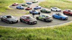 Nuova Audi RS3 Sedan e Sportback: svelate insieme al resto dei modelli Audi Sport
