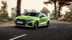 Ecco nuova Audi RS3, Sportback e Sedan: prestazioni e potenza. Il video