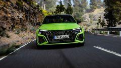 Nuova Audi RS3 Sedan: visuale frontale
