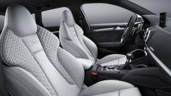 Nuova Audi RS3 Sportback 2017: i sedili anteriori