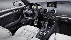 Nuova Audi RS3 Sportback 2017: il posto di guida