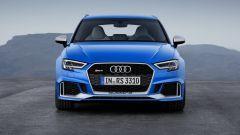 Nuova Audi RS3 Sportback 2017: vista anteriore
