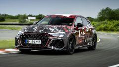 Nuova Audi RS3 Sportback 2021: in azione in pista