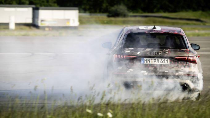 Nuova Audi RS3 Sportback 2021: sette modalità di guida