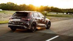 Nuova Audi RS3 Sportback 2021: vista da dietro