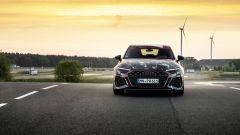 Nuova Audi RS3 Sportback 2021: visuale frontale
