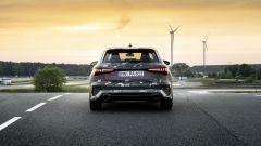 Nuova Audi RS3 Sportback 2021: visuale posteriore
